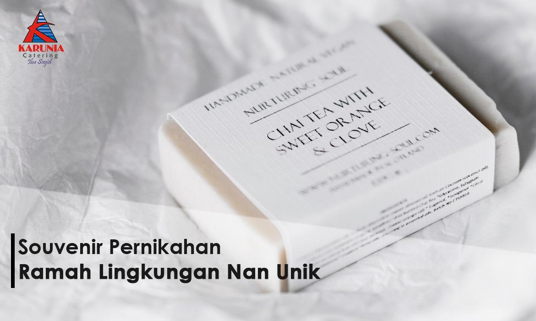 Souvenir Pernikahan Ramah Lingkungan Nan Unik