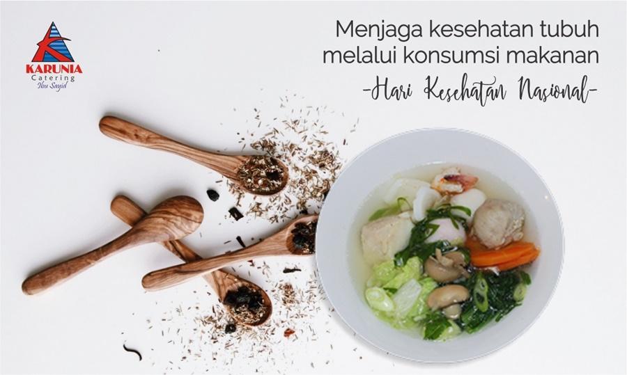 Menjaga Kesehatan Tubuh Melalui Konsumsi Makanan