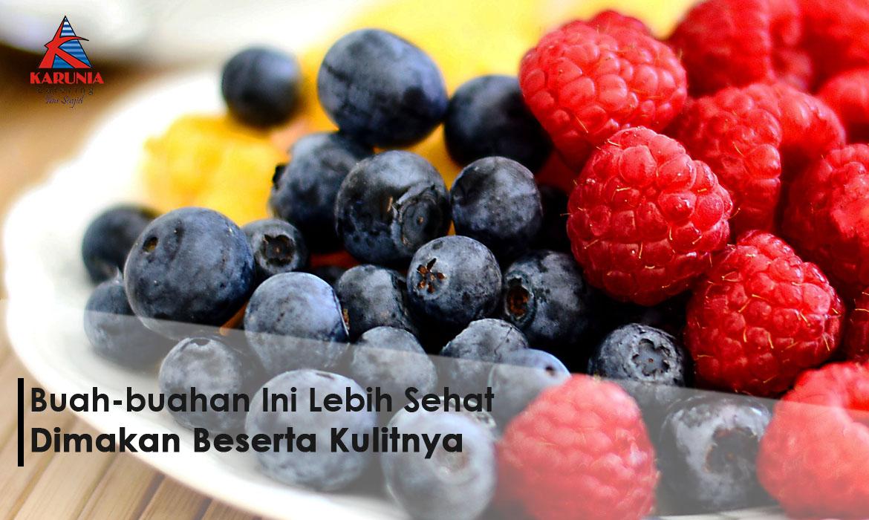 Buah-buahan Ini Lebih Sehat Dimakan Beserta Kulitnya